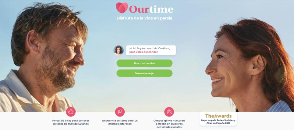 Ourtime sitio web de la reunión